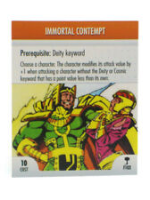 Marvel Heroclix Immortal Contempt Feat Card F102 Hammer Of Thor OP Kit LE New