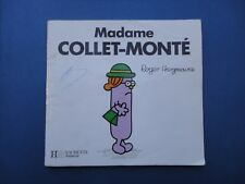 Madame Collet Monté. Roger Hargreaves.