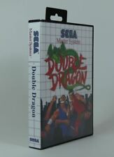 SEGA Master System SMS - Replacement Game Case Box - Double Dragon