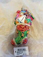 Christopher Radko ornament Fancifully Fitting numbered #593/750 with tag