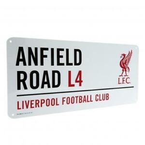 Liverpool FC  - Anfield Road Street Sign