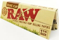New listing ��10 Pack Lot �� Raw Rolling Papers Organic 1 1/4 Rolling Papers Free Shipping ✔