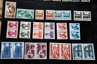 SAARLAND Postfrisches Lot mit vielen guten Ausgaben Hoher Katalogwert