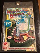 DC Whitman Wonder Woman#255,#256,#257 Comics Sealed Unopened 3 Pack (Very Rare)