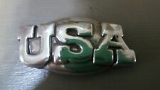 "United States of America Usa Concho with Screws 1 1/2"" Wide"