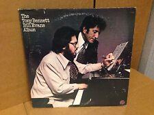THE TONY BENNETT BILL EVANS ALBUM FANTASY F 9489  VINYL LP