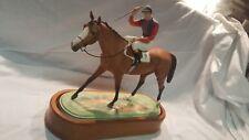 ROYAL WORCESTER 1959 DORIS LINDNER PORCELAIN HORSE FIGURINE WINNER THOROUGHBREAD