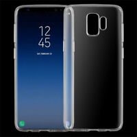 Silicone Transparent Soft Rubber Slim TPU Case Cover For Samsung Galaxy S9 S9+