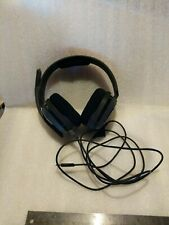 ASTRO Gaming A10 Wired Headset - Black/Grey with Green Accents