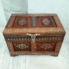 Wooden Box Treasure Pirate Chest Collectible