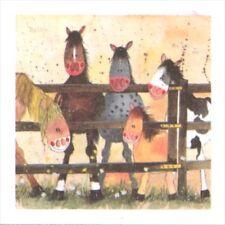 Alex Clark Art - Mini Print - The Pony Club - NWT