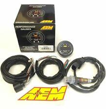 AEM 52mm X-Series Wideband Air Fuel Sensor Controller Gauge A/F Ratio UEGO AFR