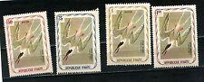 Haiti 3 postage stamps 75c 1g & 1.5g  -   1 airmail stamp 50c MH