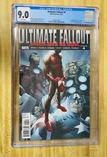 ULTIMATE FALLOUT #4 CGC 9.0 Miles Morales First Appearance