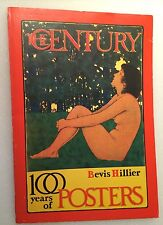 Bevis Hillier 100 Years Of POSTERS 1972 First Edition Art Deco Mid Century Art