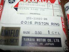 NOS Yamaha CT-1 CT1 175 .50 Piston Rings 251-11601-20