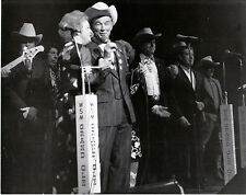 """Dale Evans Roy Rogers & SOP at The Grand Ole Opry Nashville,TN 8""""X10"""" B&W RR-16B"""