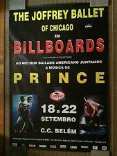 "New ListingJoffrey Ballet Original ""Billboards"" 1995 Poster Form Lisbon Music By Prince"