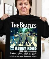 The Beatles 50 Years Of Abbey Road Men T-Shirt Cotton S-6XL