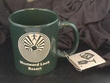Hand Etched Man In The Maze Coffee Tea Mug from Westward Look Resort Tucson Az