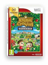 Jeux Wii Nintendo Animal CrossingTM Let s Go To The City Nintendo Selects Wii