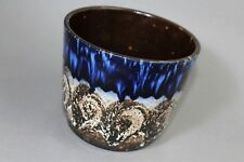 !!!!! Scheurich 806-14 flowerpot planter cachepot fat lava blue !!!!
