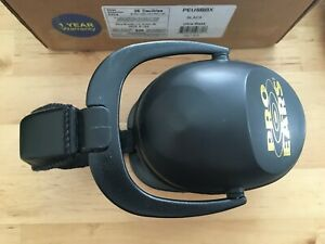 Pro Ears Ultra Sleek Hearing Protection NRR 26 Ear Muffs Black - New OTHER