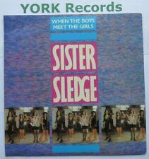 "SISTER SLEDGE - When The Boys Meet The Girls - Ex 7"" Single Atlantic A 9486"