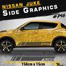 Fits Nissan Juke Side Racing  Stripes Car Stickers