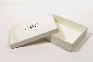 """SCATOLA CONFEZIONE LUSSO - SHOES BOX """"ALEXANDER MCQUEEN"""" ORIGINALE (31x21x7)"""