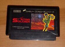 GAME/JEU FAMICOM NITENDO NES JAPANESE VERSION NTSC-J STAR SOLDIER JAPAN IMPORT