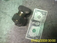 LOT 2 LARGE BRASS GROUND SPLICER CLAMP SPLIT BOLT 1LSCO 750 RUN 4/0-750 1K-750
