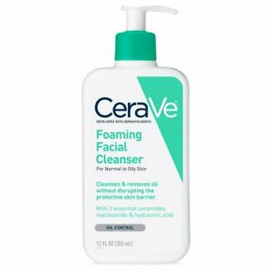 CeraVe Foaming Facial Cleanser | 12 Fl. Oz | Daily Face