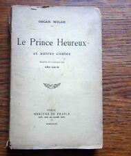 Oscar Wilde LE PRINCE HEUREUX ET AUTRES CONTES 1938