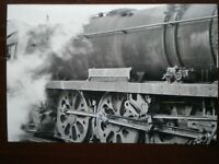 PHOTO  SR BULLEID WEST COUNTRY 4-6-2 BERE ALSTON NAMEPLATE CLOSEUP