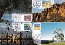 Australia 1994 Nature Paintings - Australia Day Set of 4 Maximum Cards