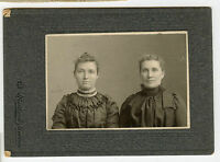 Antique Photo - 2  Ladies, BARNES & PINCH Family, (Kinkaid - Smith)-Stratford