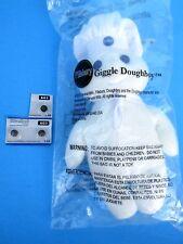 "NIP 2012 General Mills Pillsbury Doughboy 8"" Beanie Plush Beanbag GIGGLE Doll"