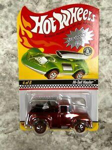Hot Wheels Redline RLC Hi Tail Hauler Red Truck Bikes Adult Collector 5718/6500