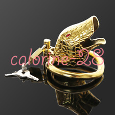 Snake Cage Male Chastity Devices Stainless Steel Men Metal Chastity Cage Lock