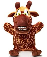 "10"" Plush Hand Puppet - with Movable Open Mouth and Pocket - 1SiSi The Giraffe"