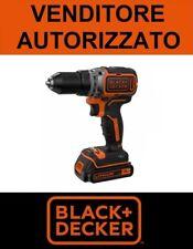 Trapano Avvitatore Brushless BLACK+DECKER 18V Litio in valigetta mod. BL186K-QW