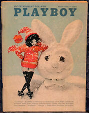 "Magazine PLAYBOY March 1966  !!TRIO CON BRIO!! BOB DYLAN ""PRISCILLA WRIGHT-PMOM"""