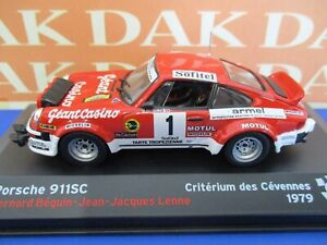 Die cast 1/43 Modellino Auto Porsche 911 SC Criterium des Cevennes 1979 B.Beguin