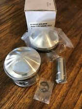 BMW NEW IN BOX PISTONS/KOLBEN R68R69 72.5 MM 1ST OVERSIZE W/RINGS, PIN AND CLIPS