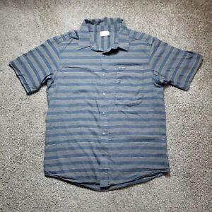 Columbia Sportswear Mens Medium Multicolor Short Sleeve Snap Shirt