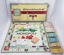 Vintage 1946 Monopoly Board Game Complete