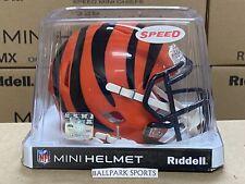 CINCINNATI BENGALS - Riddell Speed Mini Helmet (NEW IN BOX)