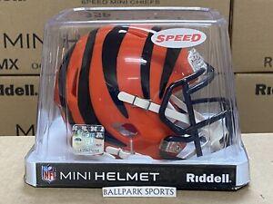 Cincinnati Bengals - Riddell NFL Speed Mini Football Helmet