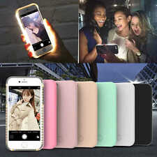 Coque Selfie Housse Etui LED Flash Fashion pour iPhone 7/7Plus/6 6s Plus/Samsung